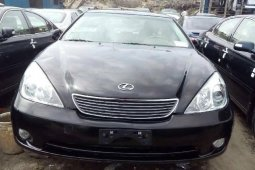Foreign Used Lexus ES 2005 Model Black