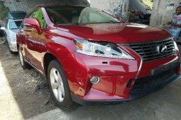 Foreign Used Lexus RX 2010 Model for sale Upgraded to 2012