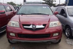 Foreign Used Acura MDX 2005 Model Red