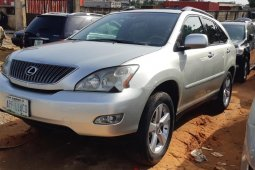 Nigeria Used Lexus RX 2006 Model Silver