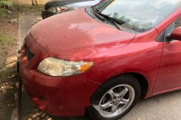 Foreign Used Toyota Corolla 2009 Model