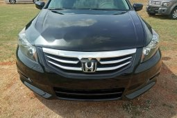 Foreign Used 2012 Black Honda Accord for sale in Abuja.