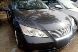 Foreign Used Lexus ES 2008 Model Gray