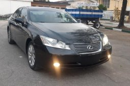 Foreign Used Lexus ES 2009 Model Black