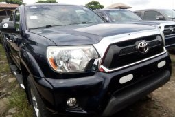 Foreign Used Toyota Tacoma 2013 Model Gray