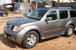 Nigeria Used Nissan Pathfinder 2007 Model Silver