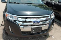 Foreign Used 2013 Black Ford Edge for sale in Lagos.
