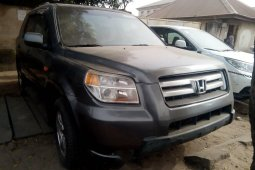 Foreign Used Honda Pilot 2008 Model Gray