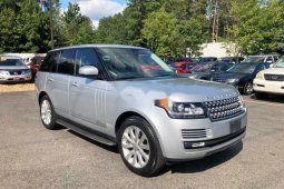 Foreign Used Land Rover Range Rover Vogue 2015 Model Silver