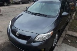 Clean Foreign USed Toyota Corolla 2009 Model