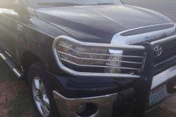 Nigeria Used Toyota Tundra 2007 Model Black