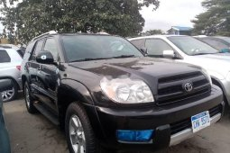Foreign Used 2005 Black Toyota 4-Runner for sale in Lagos.