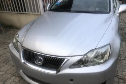 Foreign Used Lexus IS 2008 Model Silver