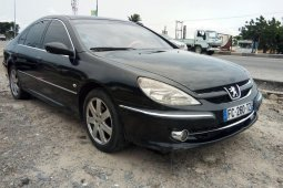 Nigeria Used Peugeot 607 2006 Model Black