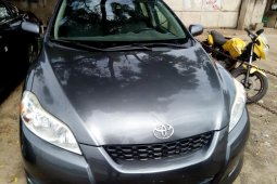 Foreign Used Toyota Matrix 2010 Model Gray