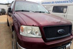 Foreign Used Ford F-150 2002 Model Red