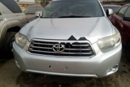 Foreign Used Toyota Highlander 2010 Model Silver