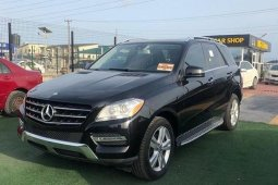 Foreign Used 2013 Mercedes-Benz ML350 for sale