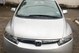 Foreign Used Honda Civic 2008 Model Silver
