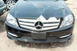 Foreign Used 2009 Black Mercedes-Benz C300 for sale in Lagos.