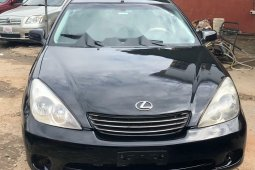 Nigeria Used Lexus ES 2003 Model Black