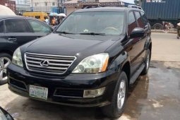 Nigeria Used Lexus GX 2005 Model Black
