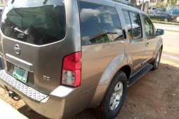 Clean Naija Used Nissan Pathfinder 2005 Model for sale