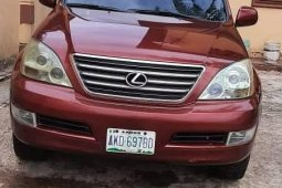 Clean Naija Used Lexus GX 2009 Model