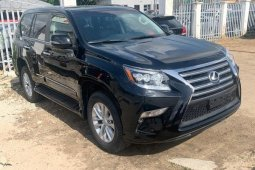 Foreign Used 2018 Black Lexus GX for sale in Lagos.