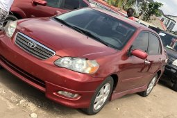Foreign Used Toyota Corolla 2007 Model