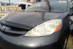Foreign Used 2008 Blue Toyota Sienna for sale in Lagos.