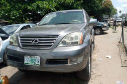 Naija Used 2004 Grey Lexus GX for sale in Lagos