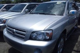 Foreign Used Toyota Highlander 2006 Model for sale