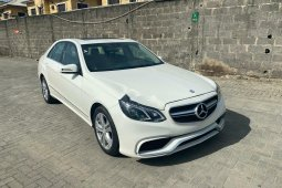 Full option Tokunbo Mercedes-Benz E350 2012