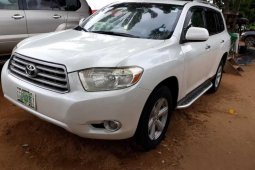 Registered 2009 Naija Used Toyota Highlander Limited for sale
