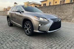 Foreign Used 2018 Lexus RX for sale in Lagos.