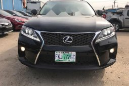 Super Clean Naija Used Lexus RX 2011 Model