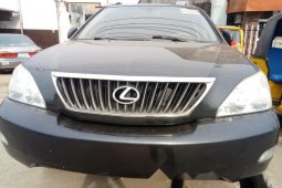 Foreign Used 2009 Silver Lexus RX for sale in Lagos.