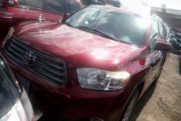 Super Clean Naija Used Toyota Highlander 2008 for sale