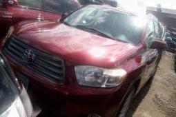 Super Clean Naija Used Toyota Highlander 2008 for sale