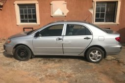 Clean Naija Used 2006 Toyota Corolla for sale