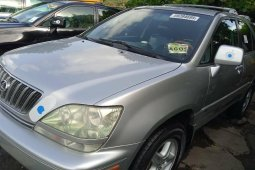 Foreign Used 2003 Silver Lexus RX for sale in Lagos.