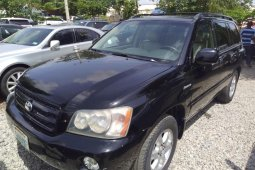 Naija Used Toyota Highlander 2003 Model for sale