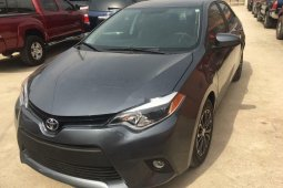 Direct Tokunbo 2015 Toyota Corolla for sale