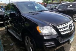 Super Clean Naija Used Mercedes-Benz ML350 2010 Model
