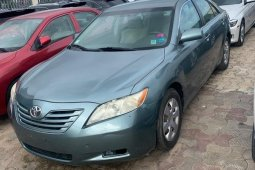 Foreign Used 2008 Green Toyota Camry for sale in Lagos.