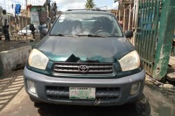 Locally Used 2003 Green Toyota RAV4 for sale in Lagos.