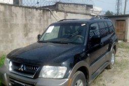 Foreign Used 2005 Black Mitsubishi Montero Sport for sale in Lagos.