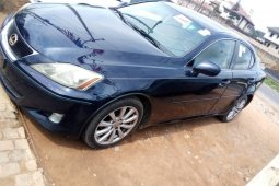 Foreign Used 2006 Blue Lexus IS for sale in Lagos.