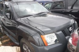 Foreign Used 2005 Grey Nissan Xterra for sale in Lagos.